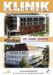 Klinik Hildburghausen - Regiomed Kliniken