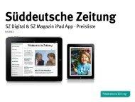 Süddeutsche Zeitung - sz-media.de
