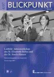 Blickpunkt 4/07 - St. Josef-Stift Sendenhorst