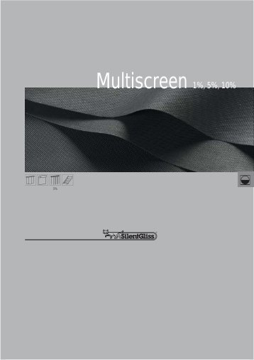 Multiscreen 5%, 10% - Silent Gliss AG