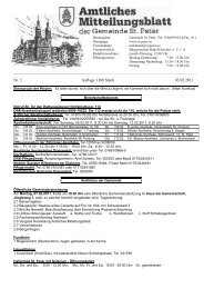 Nr. 5 Auflage 1100 Stück 03.02.2011 - St. Peter