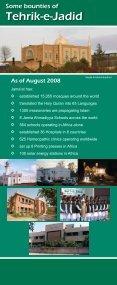 Tehrik-e-Jadid - Majlis Khuddamul Ahmadiyya UK Majlis ... - Page 2