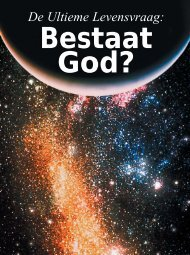 De Ultieme Levensvraag: - United Church of God - Holland