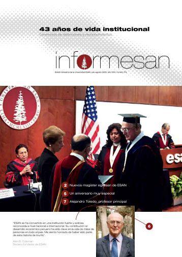 43 años de vida institucional - Esan
