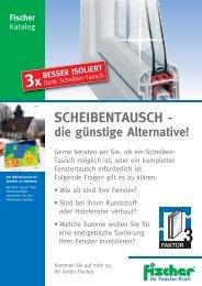 Datenblatt als PDF - Fischer Fensterbau