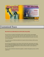 Sightseeing Tours Nyc