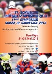 17. SCHWEIZER NOTFALLSYMPOSIUM 2013 - Vereinigung ...