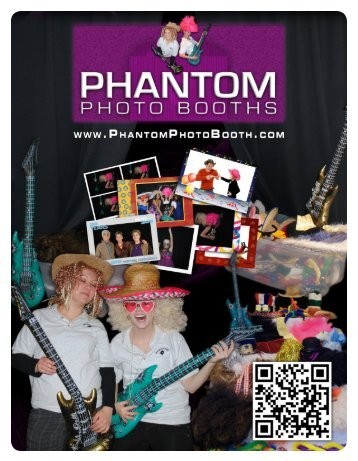 Wedding & Formal Event Packages - Phantom Photo Booths