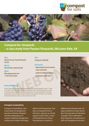 Paxton Vineyards - Compost for Soils
