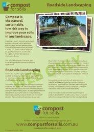 Roadside Landscaping - Compost for Soils