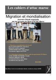 cahier attac migration et mondialisation - cadtm