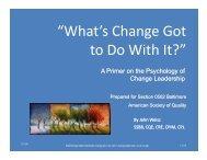 Present200911_Whats_change_got_t... - ASQ Baltimore 0502