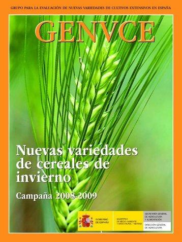 cereal de invierno - GENVCE