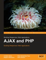 AJAX And PHP - Building Responsive Web Applications