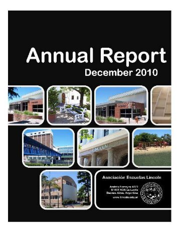 Annual Report 2010 - Lincoln