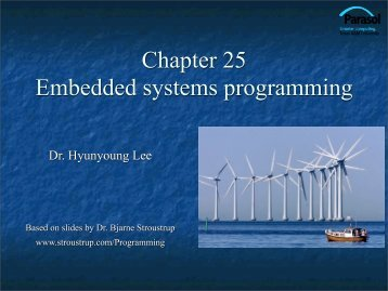 Chapter 25 Embedded systems programming - TAMU Computer ...