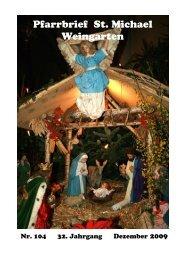 Kontaktadresse - St. Michael Weingarten
