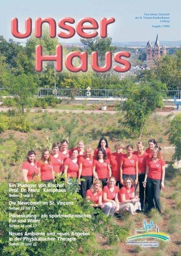 Ausgabe Nr. 3 / 2004 (3,4 MB) - St. Vincenz Krankenhaus Limburg