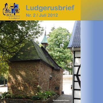 Ludgerusbrief - Pfarrei St. Ludgerus