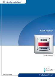 Busch-Infoline® - Busch-Jaeger Elektro GmbH
