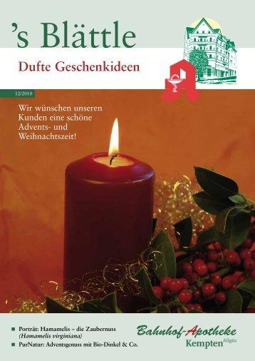 Dufte Geschenkideen - Stadelmann Verlag