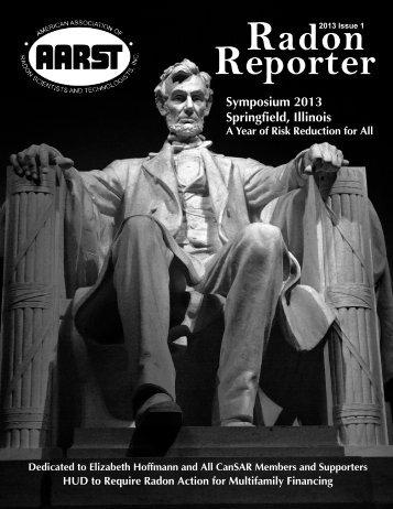 Radon Reporter - aarst
