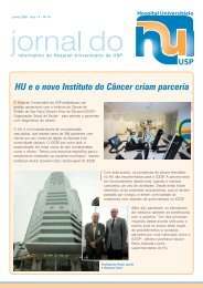 Junho 2009 - Hospital Universitário – USP