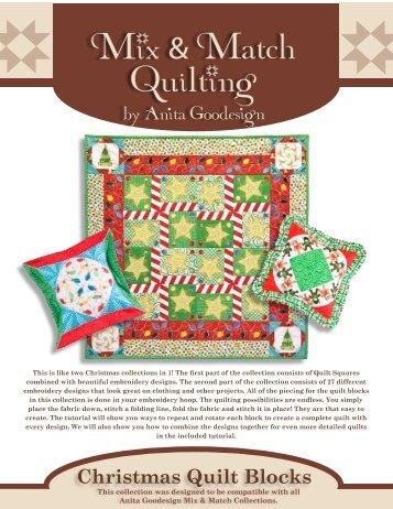 Christmas Quilt Blocks - Anita Goodesign