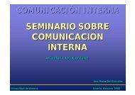 Comunicación Interna - Universidad de Almería