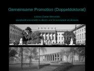 Gemeinsame Promotion - Internationale DAAD-Akademie (IDA)