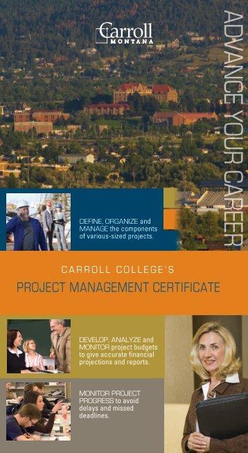 PDF version of the brochure - Carroll College