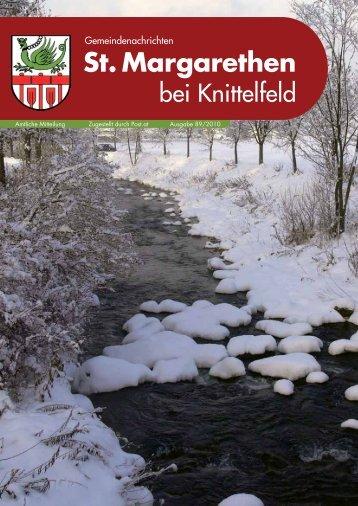 Ausgabe 89/2010 - St. Margarethen bei Knittelfeld