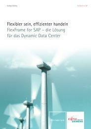 Flexibler sein, effizienter handeln FlexFrame for SAP – die Lösung ...
