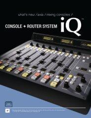 iQ Brochure - Broadcast Bionics