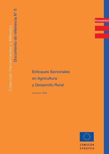 Enfoques Sectoriales en Agricultura y Desarrollo ... - Capacity4Dev