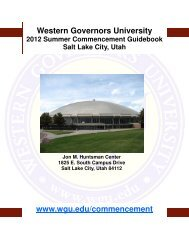 2012 Summer Commencement Ceremony Guidebook