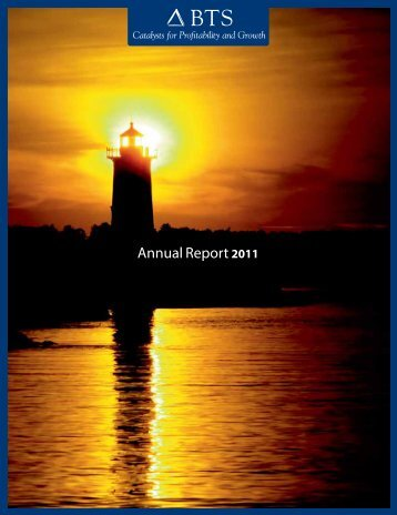 BTS Annual Report 2011 - Corporate Solutions