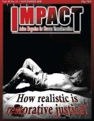 November 2008 - IMPACT Magazine Online!