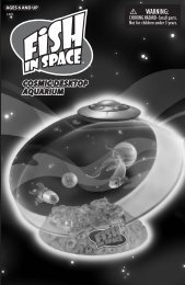 Fish In Space® Manual Download - Uncle Milton