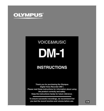 DM-1 Instruction Manual