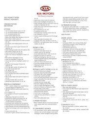 2012 Kia Rio Highlights brochure - Citrus Motors