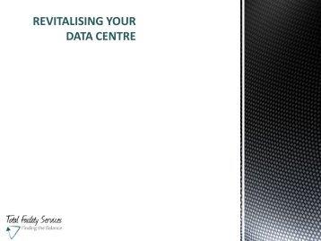 DATA CENTRE – UPGRADE STRATEGY - Server Racks Australia