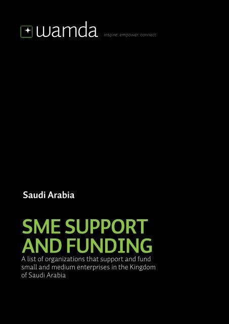 Saudi Arabia SME Support And Funding - Wamda.com