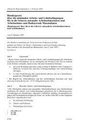 Bundesgesetz über die minimalen Arbeits- und Lohnbedingungen ...