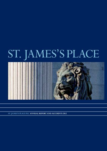 St. JameS'S Place Plc annual RePoRt and accountS 2012