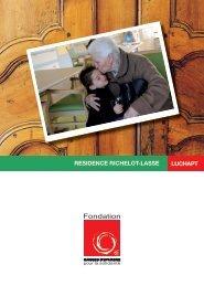 luchapt residence richelot-lasse - Fondation Caisses d'Epargne ...