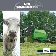 NEu FIXMASTER 230 - Deutz-Fahr