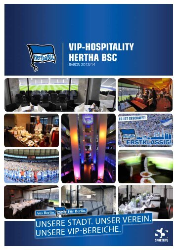 VIP-HOSPITALITY HERTHA BSC