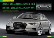 VW&Audi; 2-09 090-093 Studie Audi Sportback Concept