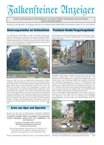 Zur Villenklause - Stadt Falkenstein im Vogtland